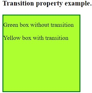 transition-property in CSS, www.programmingtutorial.in
